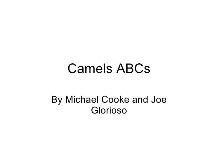 Camels ABCs By Michael Cooke and Joe Glorioso