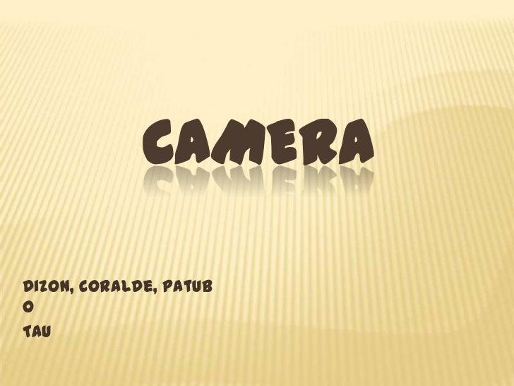 CAMERADizon, Coralde, PatuboTau