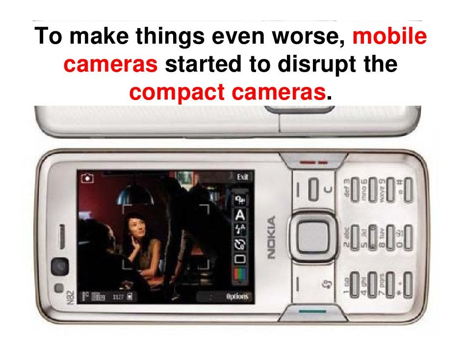 Disruptive Innovation and the Camera Industry