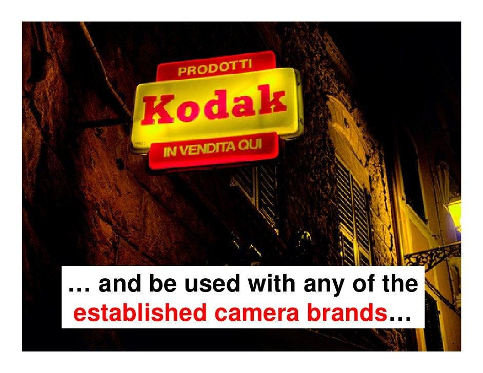 Amateurs    mainly used Kodak…