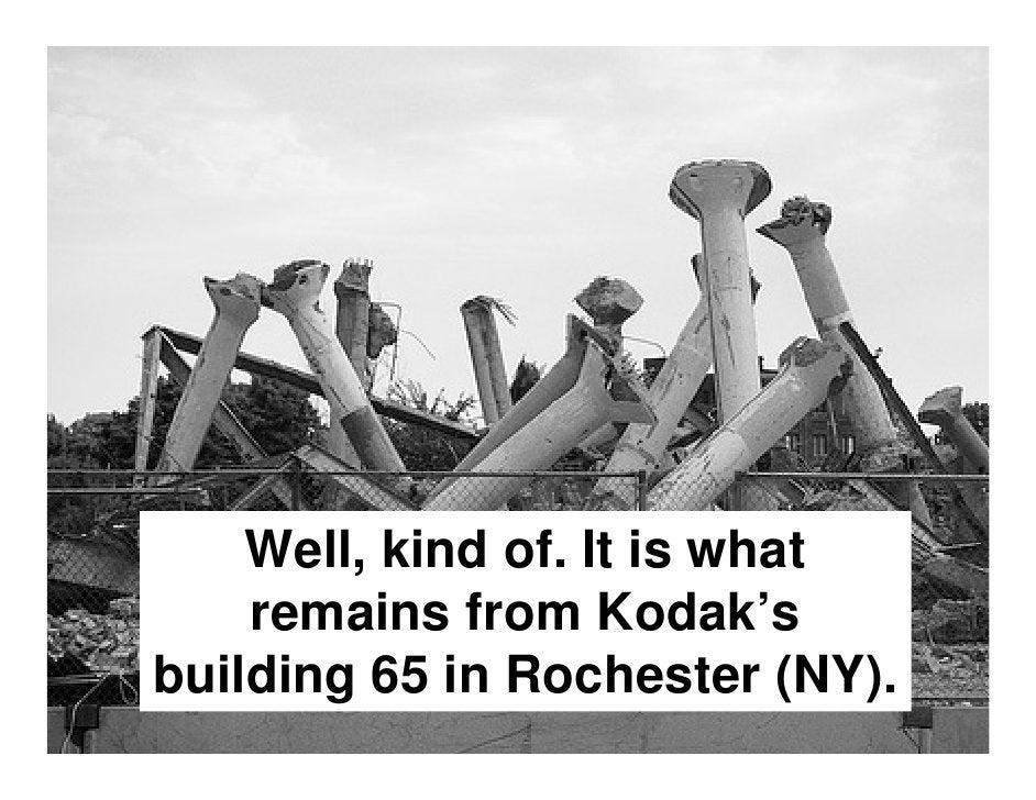 It was demolished…