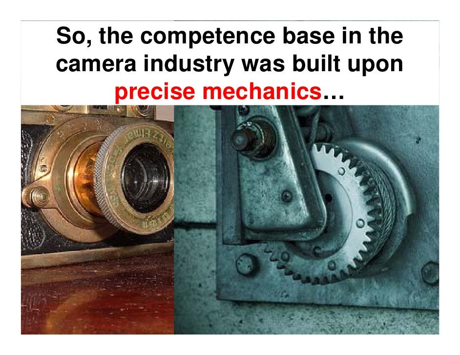 Though some threats could be identified, the    camera industry    remained stable   through the 1980s.