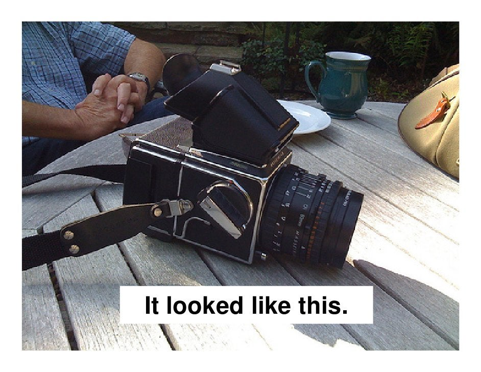 An infinite   amount of photos could be taken and    then be  replicated,  manipulated and sent, at a very low cost.
