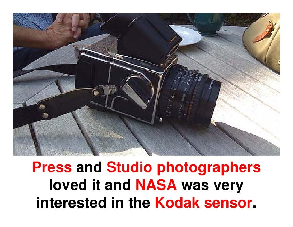 Kodak had developed a  digital back, which was built in to a Nikon camera.