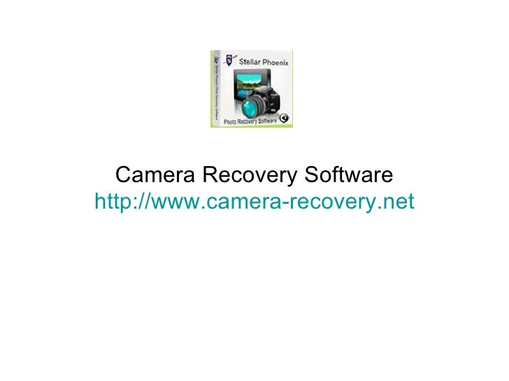 Camera Recovery Software http://www.camera-recovery.net