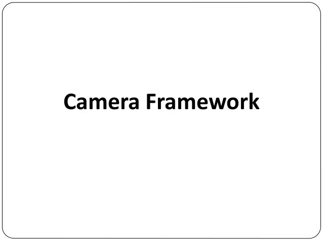 Introduction of Android Camera1