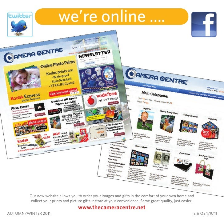 we're online ....         Our new website allows you to order your images and gifts in the comfort of your own home and   ...