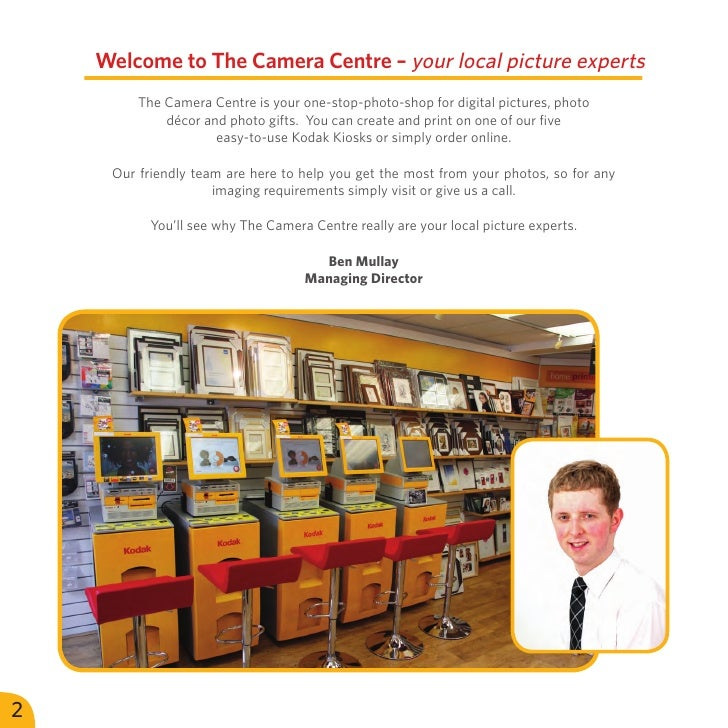 Welcome to The Camera Centre – your local picture experts         The Camera Centre is your one-stop-photo-shop for digita...