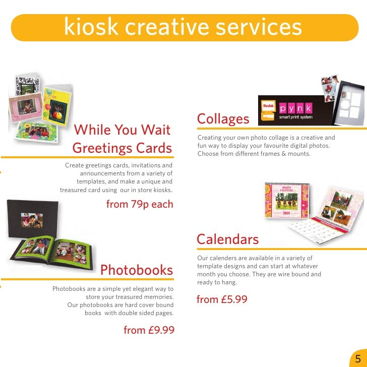 kiosk creative services                                              Collages      While You Wait                         ...