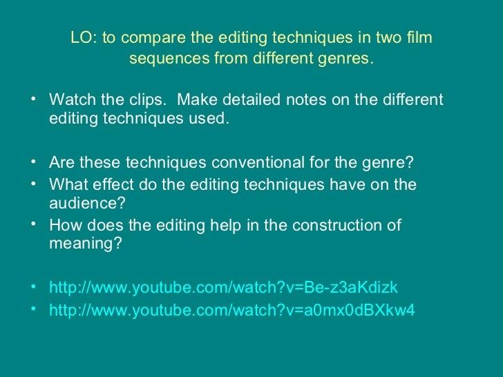 the help film techniques