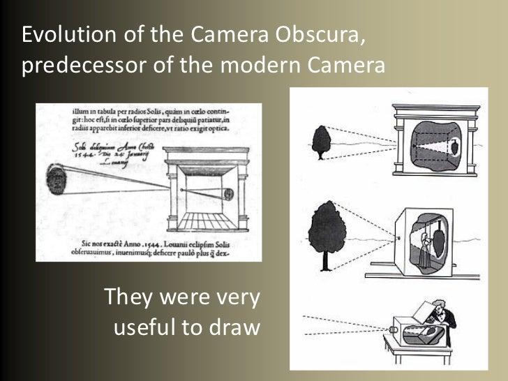 Camera obscura pinhole Slide 3