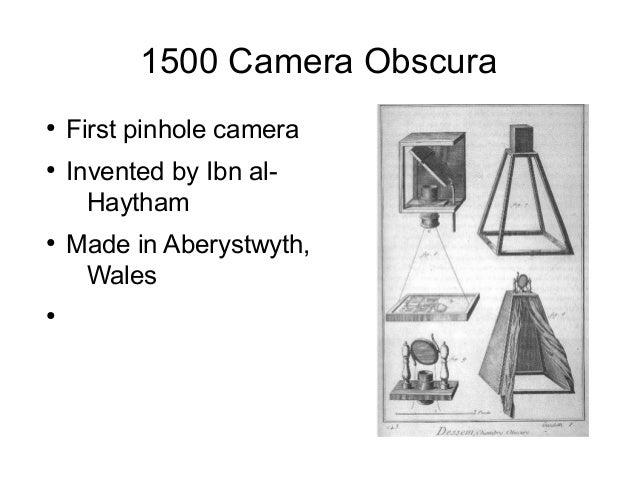 Camera pesentation