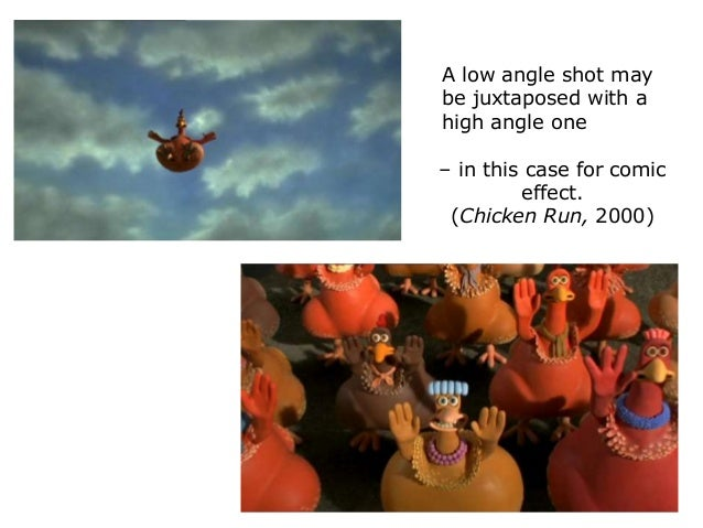 chicken run camera angles They have used the camera angles superbly as well as the lighting on the characters  how do the film makers of chicken run use presentational devices to reveal .