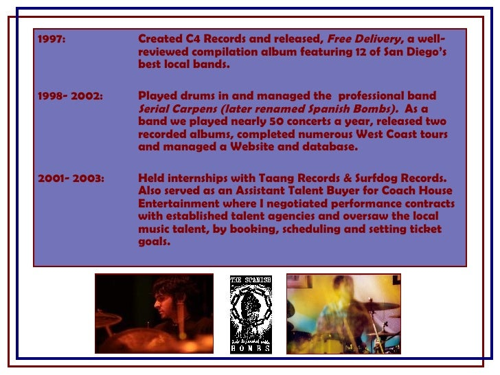 1997: Created C4 Records and