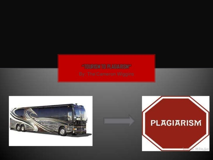 """TOURISM TO PLAGIARISM""By: The'Cameron Wiggins"