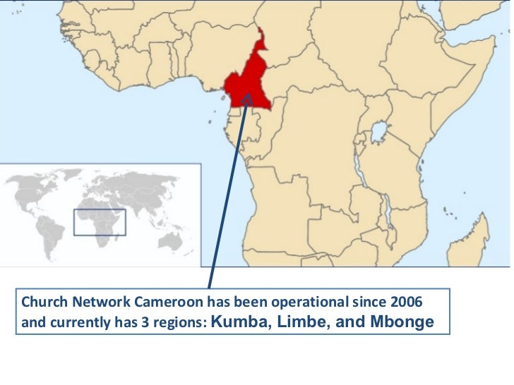 Church Network Cameroon has been operational since 2006 and currently has 3 regions:  Kumba, Limbe, and Mbonge
