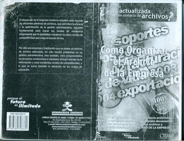 *a     '  deláiemprsa rriodema-requíere cada  '  ~de . eñcientes sistemas de archives,  que_ permitanila eñcàci _ çoptirhi...