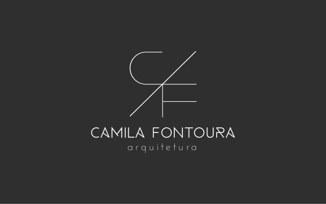 identidade visual CAMILA FONTOURA Apresentação de proposta de logo para a arquiteta Camila Fontoura. { apresenta{ apresenta