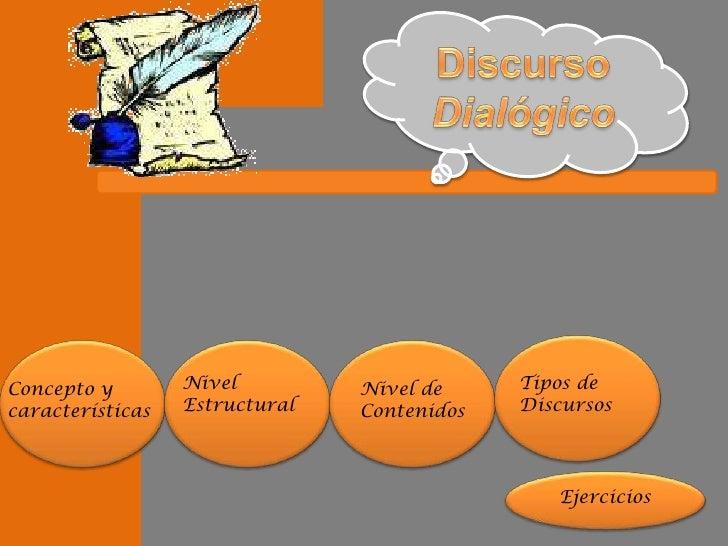 Concepto y        Nivel         Nivel de     Tipos de características   Estructural   Contenidos   Discursos              ...