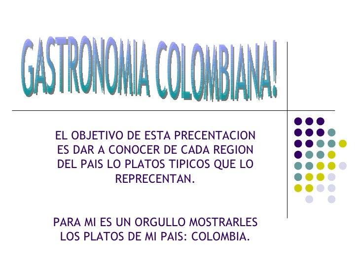 gastronomia de las regiones de colombia