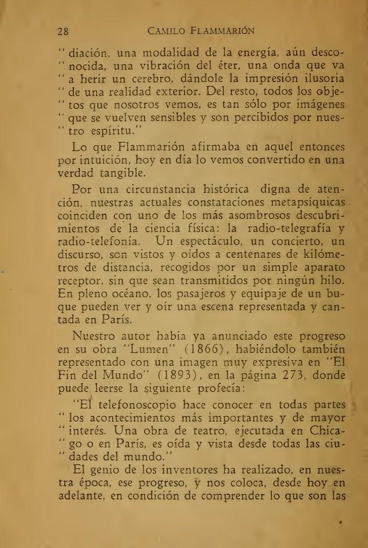 Camille Flammarion La Muerte Y Su Misterio