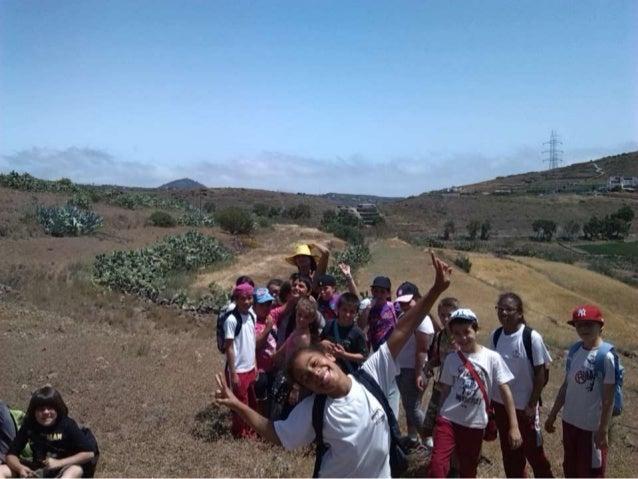 Caminata pasando por el barranco desde los Llanetes a Tecén.