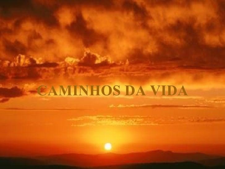 CAMINHOS DA VIDA