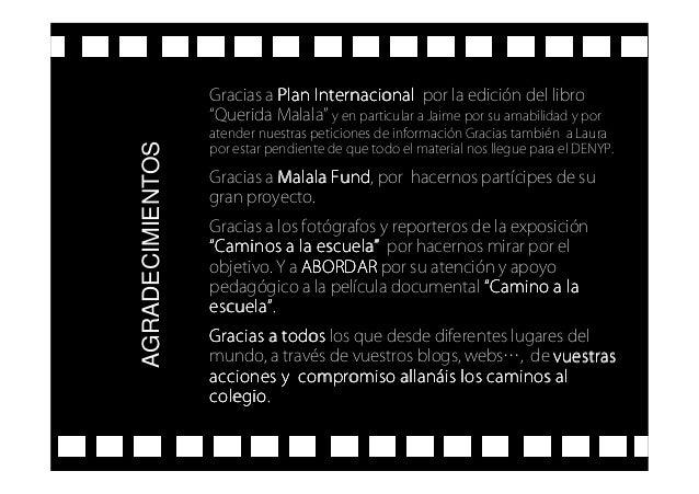"Gracias a Plan InternacionalPlan InternacionalPlan InternacionalPlan Internacional por la edición del libro ""Querida Malal..."