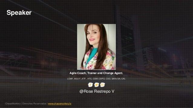 Camino y Modelo Coach Agil Integral por RoseRestrepoV Slide 3