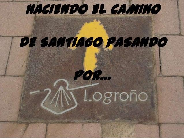 Camino de santiago:proyecto en Educación Infantil Slide 2