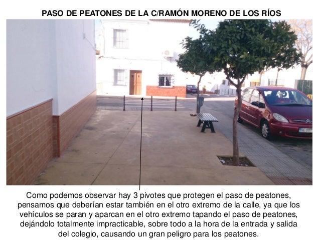Camino escolar diagn stico ceip san jos - Escaleras ramon moreno ...