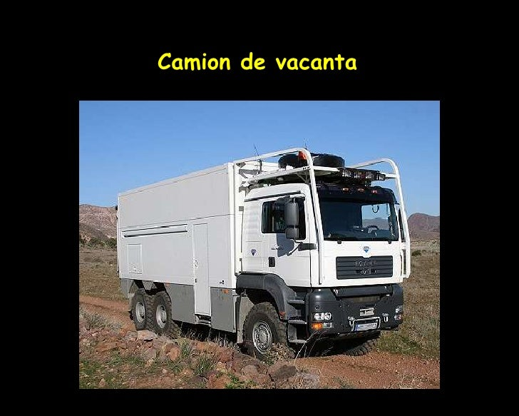 Camion de vacanta<br />