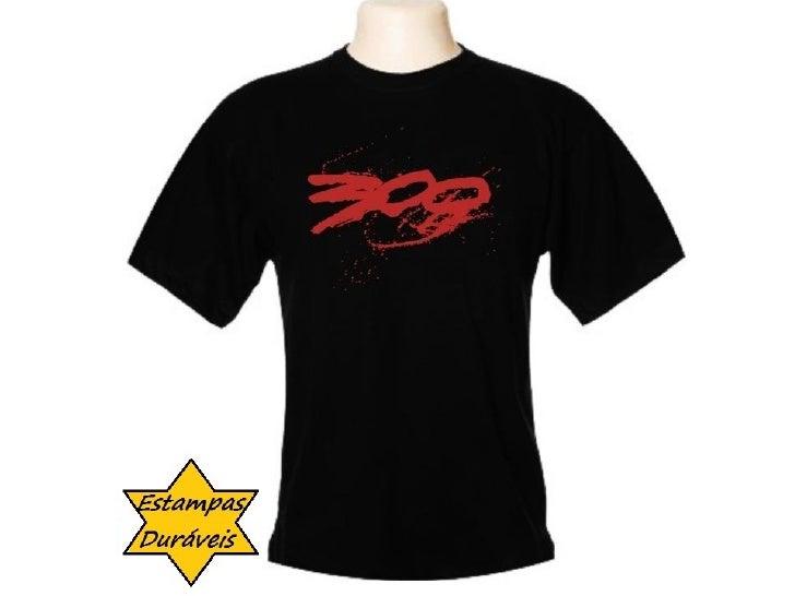 Camiseta 300, frases camiseta