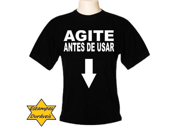 Camiseta agite antes de usar,         frases camiseta