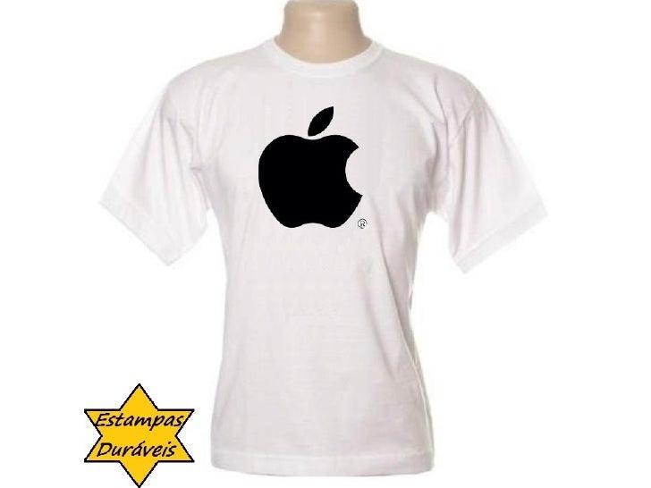Camiseta apple,   frases camiseta