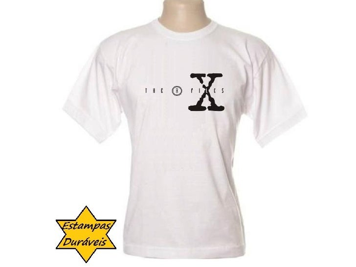 Camiseta arquivo x,    frases camiseta