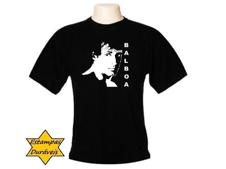 Camiseta balboa,   frases camiseta