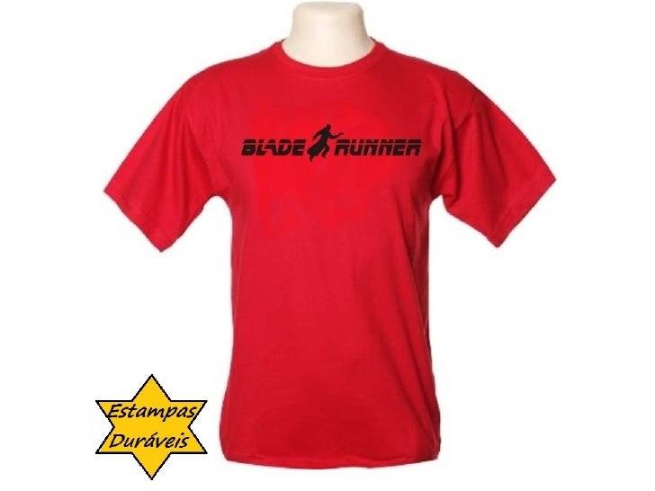Camiseta blade runner,      frases camiseta