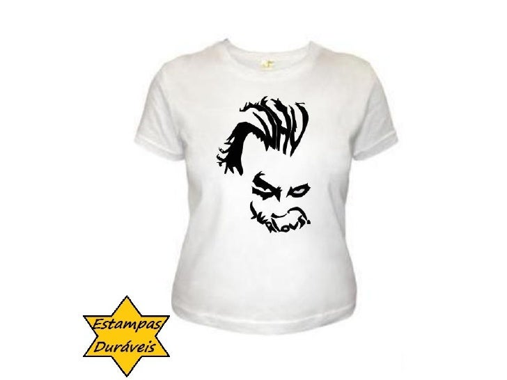 Camiseta coringa,   frases camiseta