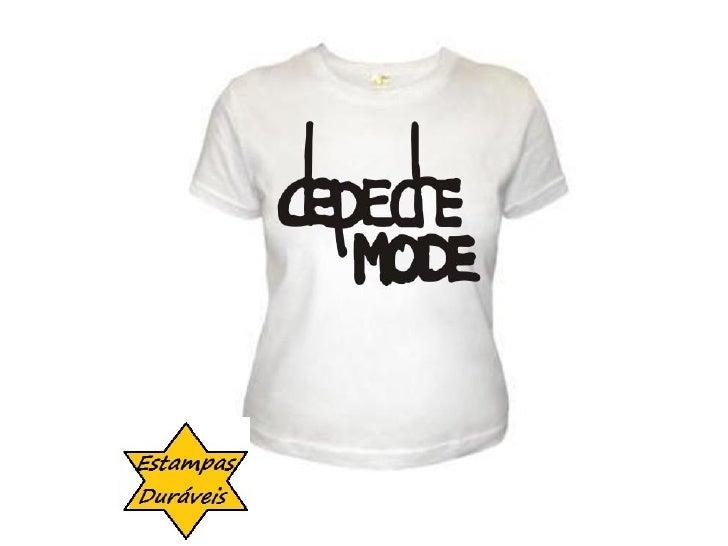 Camiseta depeche mode,      frases camiseta
