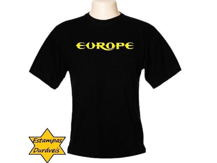 Camiseta europe,   frases camiseta