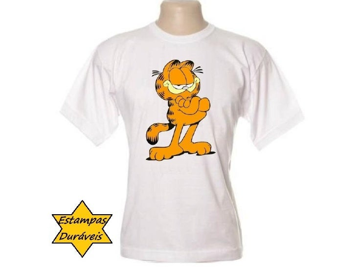 Camiseta garfield,   frases camiseta