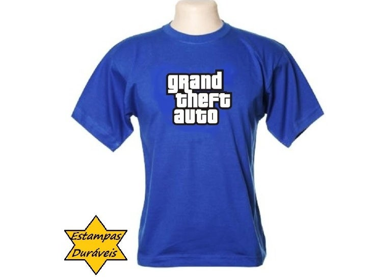 Camiseta gta,  frases camiseta