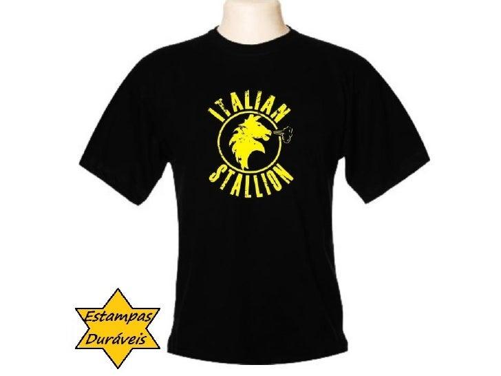 camiseta italian stalion,       frases camiseta