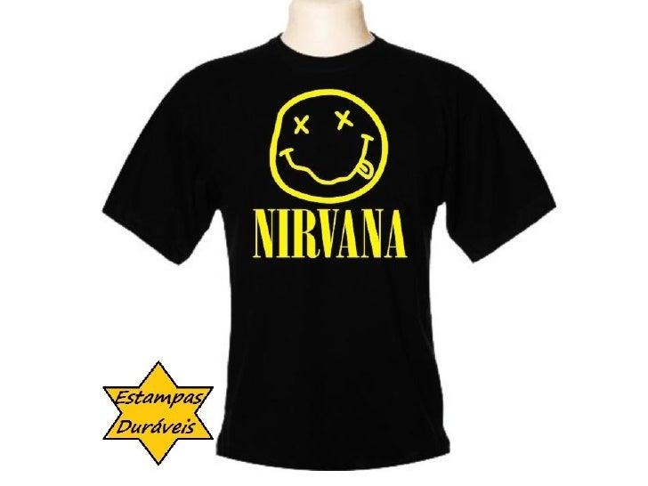 Camiseta nirvana,   frases camiseta