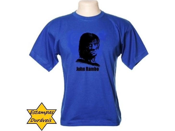 Camiseta rambo,   frases camiseta