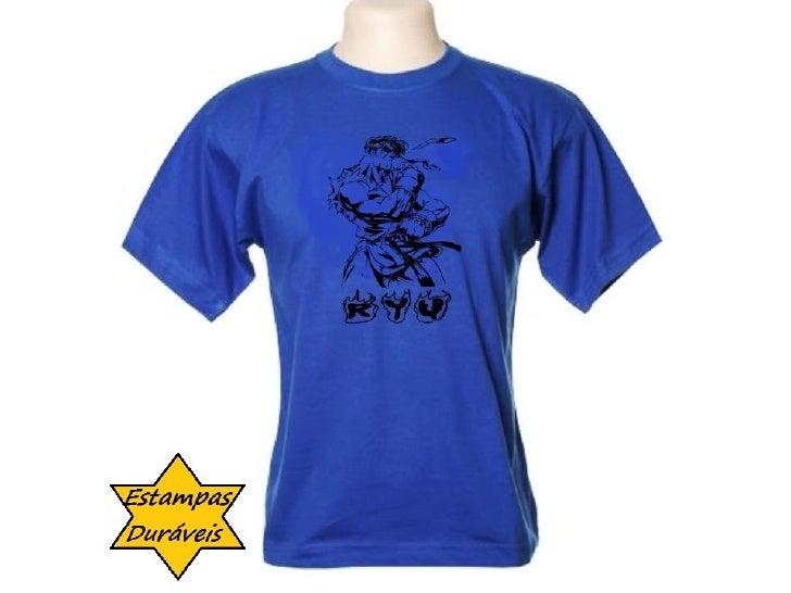 Camiseta ryu, frases camiseta