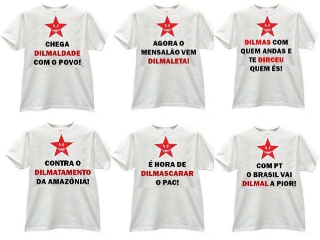 Camisetas dilma