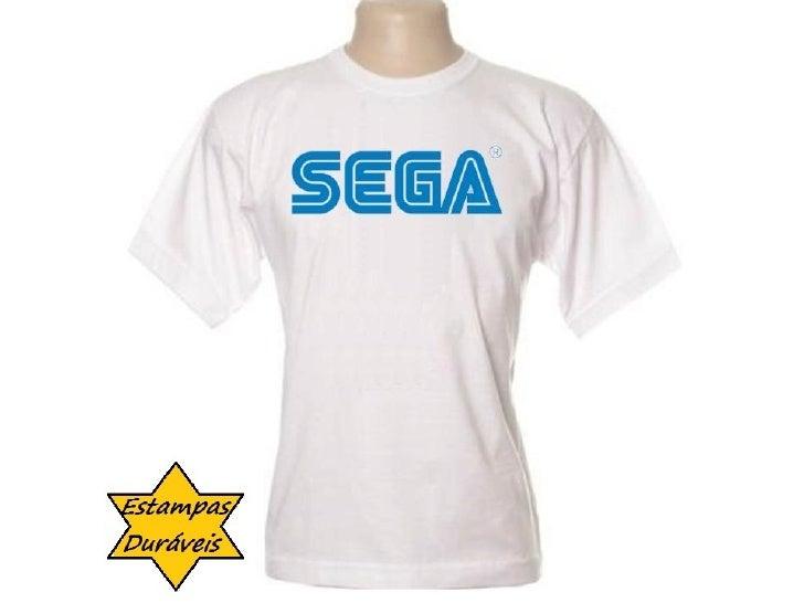 Camiseta sega,  frases camiseta