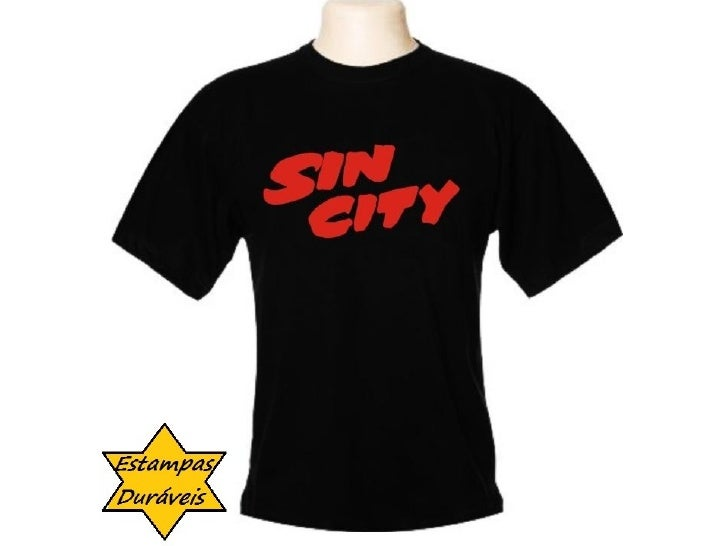 Camiseta sin city,   frases camiseta
